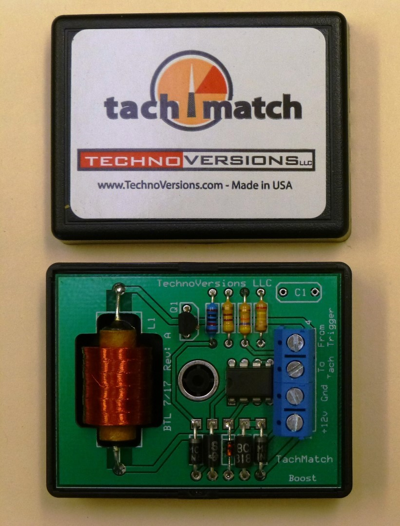 Technoversions Home Of Tachmatch Metermatch And Motormatch Gm Hei Module Wiring Diagram Engine Scheme For Your V Boost Tm 02